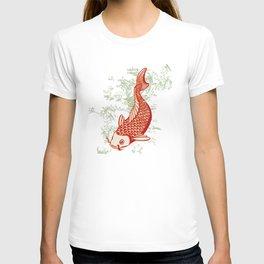 Japanese Koi Design T-shirt