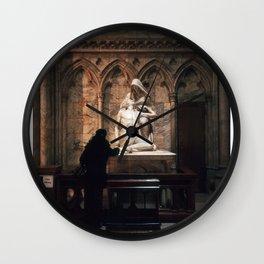 Metropolis New York - The Pieta Wall Clock