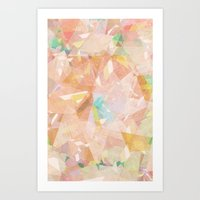 diamonds Art Prints featuring Diamonds by Zeke Tucker