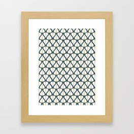 Trees .winter Framed Art Print