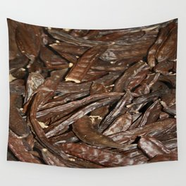 Harvested Carob Pods - Haripur Wall Tapestry