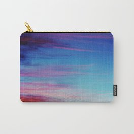 Colorful Sunset Clouds Carry-All Pouch