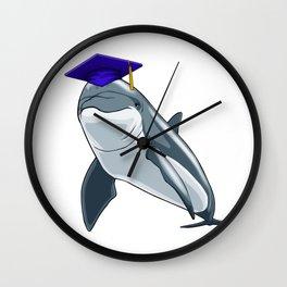 Graduate Dolphin Class of 2019 Graduation Wall Clock