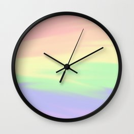 Rainbow Blend Wall Clock