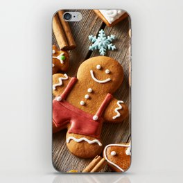Gingerbread Cookies iPhone Skin