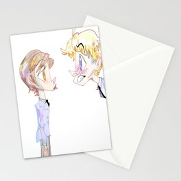 Kiss Kiss Fall In Love Stationery Cards