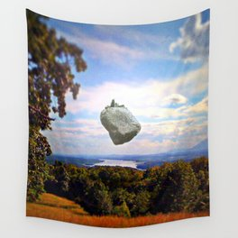 Mountain House Wall Tapestry