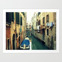 venice Art Prints featuring Venice by Mr and Mrs Quirynen