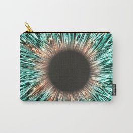 The Blue-Green Iris Carry-All Pouch