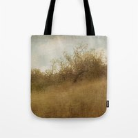 pixies Tote Bags featuring The Magical Oak Tree by Honey Malek