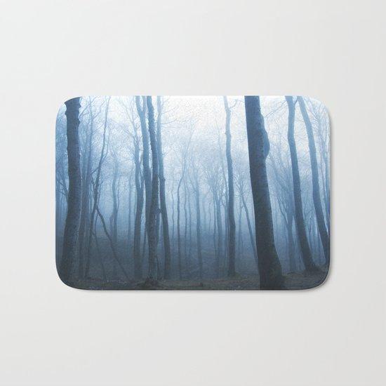 Foggy Woods #society6 #buyart Bath Mat