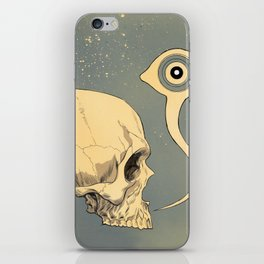 Untitled (skull) iPhone Skin