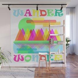 Wander Wonder Wall Mural