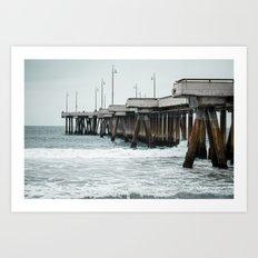 Venice Pier  Art Print