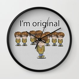 I'm Original Wall Clock