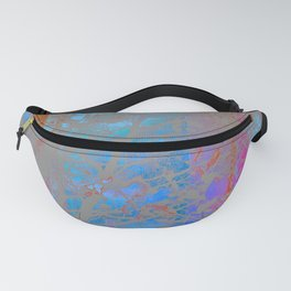 Abstract Landscape Blue Sky and Trees Fanny Pack