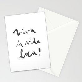Viva la vida loca! Stationery Cards
