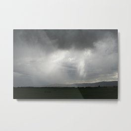 Clouds, Sheets, Light Metal Print