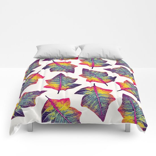 Colorful Leaves Comforters