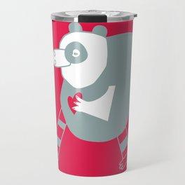 cuore di panda Travel Mug
