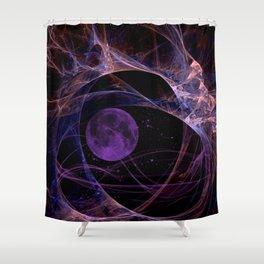 le filament mauve Shower Curtain