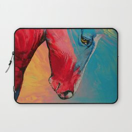 Painted Horse Laptop Sleeve
