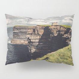 Irish Sea Cliffs Pillow Sham