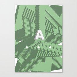 Geometric Calendar - Day 24 Canvas Print