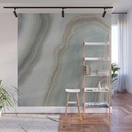 Geode in Blue Wall Mural