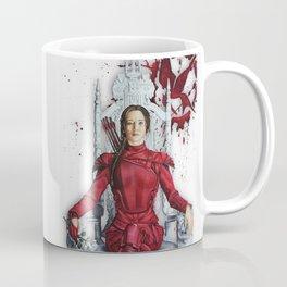 "Katniss Everdeen Mockingjay Part 2 ""I Kill Snow"" | Drawing Coffee Mug"