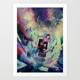 Cosmicolor Art Print