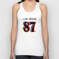 las vegas Tank Tops featuring Las Vegas by Joe Alexander