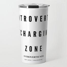 Introverts Recharging Zone Travel Mug