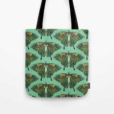 swallowtail butterfly emerald Tote Bag