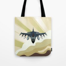 F-16 Fighting Falcon Tote Bag