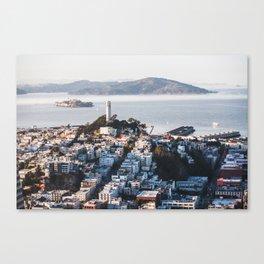 Coit Tower - San Francisco, CA Canvas Print