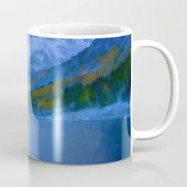 Maroon Bells Early Morning Abstract Coffee Mug