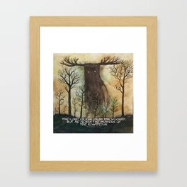 Far From the Wicked Framed Art Print