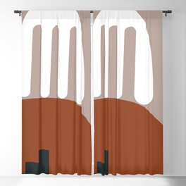 Shape study #10 - Stackable Collection Blackout Curtain