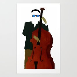 Bottom - A Celebration of the Bass Art Print