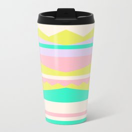 Color Blocks (Cute Nursery Pattern) (13-Nov-17) #ColorBlocks #Zala02Creations #Society6 Travel Mug