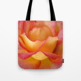 Dew Drop Fire Rose, 2012 Tote Bag