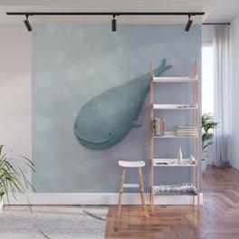 Happy Whale Shark Wall Mural