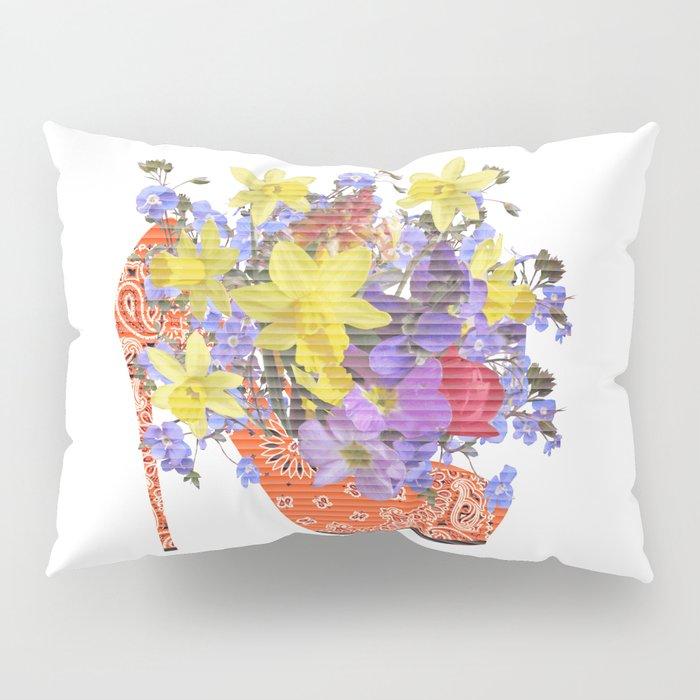 Blooming Shoe Pillow Sham