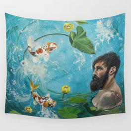 Observe and Let Go Wall Tapestry