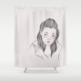 Are you gonna break my heart? Shower Curtain