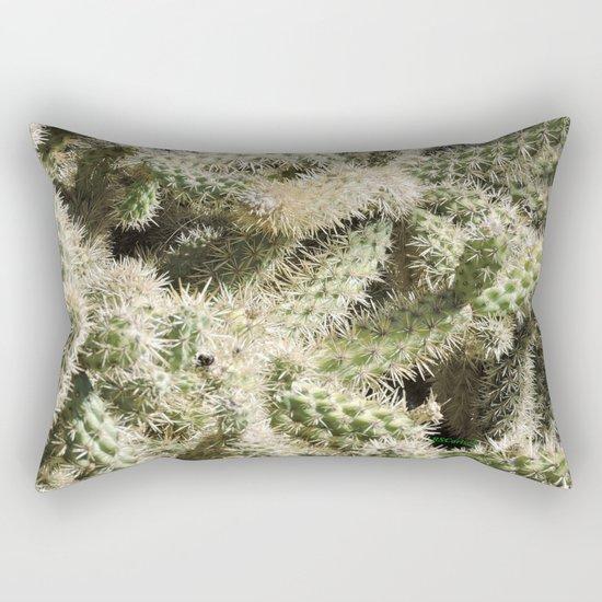 TEXTURES -- Munz's Cholla Rectangular Pillow
