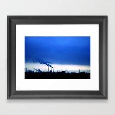 Industrial Skies Framed Art Print