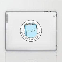 In books we trust Laptop & iPad Skin