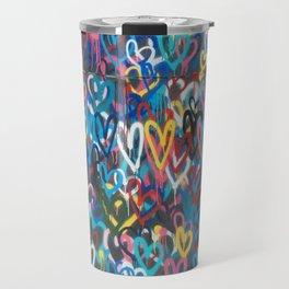 Love Wall Graffiti Street Art Travel Mug